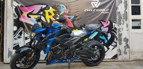 moto suzuki gsx 750 0km 2019 naked blanco entrega ya 31/8
