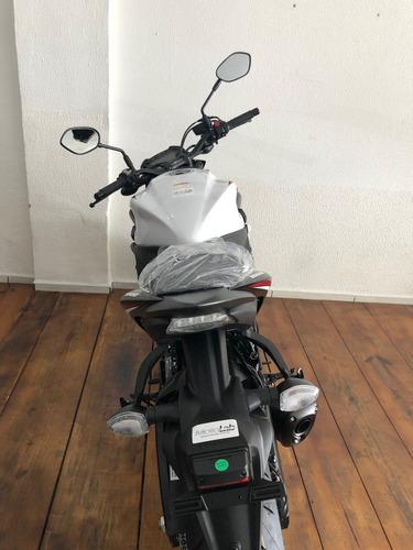 moto suzuki gsx-s 1000za branca 2019 0km naked *hornet z1000