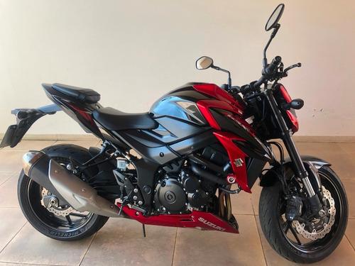 moto suzuki gsxs 750, 2018/19