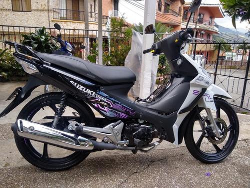moto suzuki nueva garantia de fabrica varata