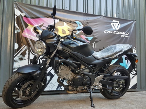 moto suzuki sv 650 0km 2018   negro mate ya en stock al 19/6