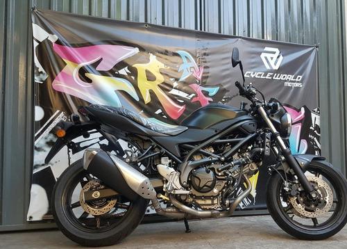 moto suzuki sv 650 v-twin  0km 2018 japon  efectivo al 19/7