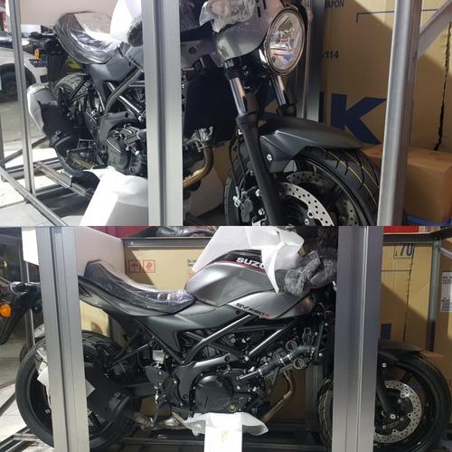 moto suzuki sv 650 x cafe racer 0km 2019 hasta el 19/7
