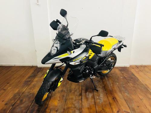 moto suzuki v-strom 1000xt amarela 2019 0km busc*gs1200 triu