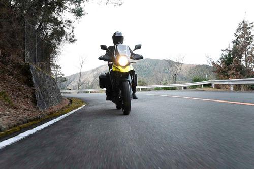 moto suzuki v-strom 250