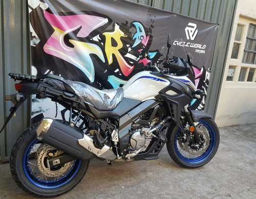 moto suzuki v strom dl 650 xt touring 0km 2019 blanco