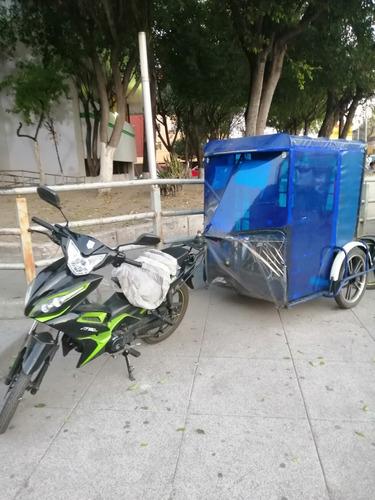 moto taxi (con calandria y permiso)