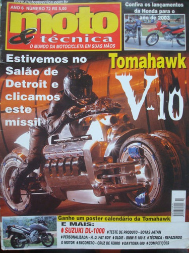 moto & técnica ano 6 no. 72