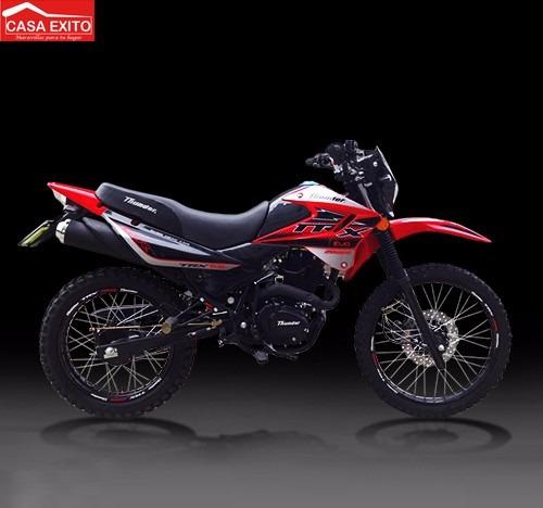 moto thunder trx 200 colores azul,negro,rojo