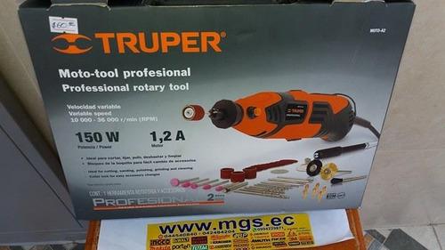 moto-tool profesional 150w con accesorios marca truper