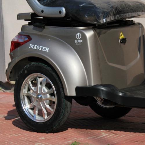 moto triciclo electrico master golf discapacitados hot sale