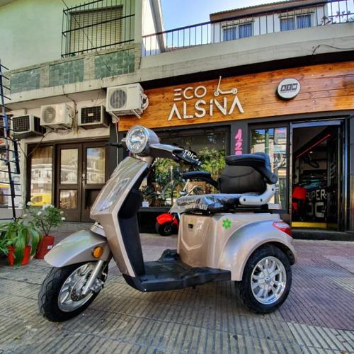 moto triciclo electrico master golf - mes de papá / oferta