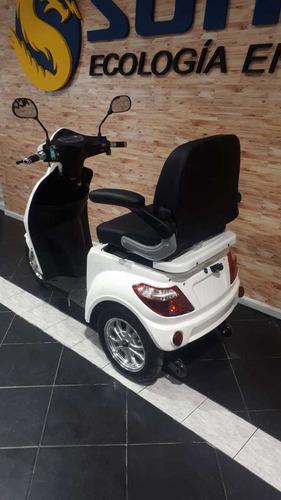 moto triciclo eléctrico sunra shino - ecomove
