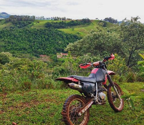 moto trilha honda