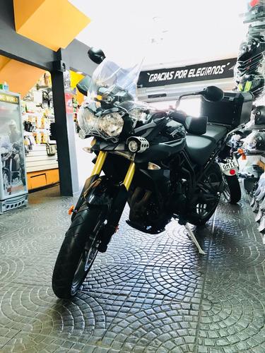 moto triumph tiger 800 impecable, tiger, no bmw, no gs, 800