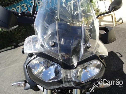 moto triumph tiger xc 800 800xc branca 2013/2014