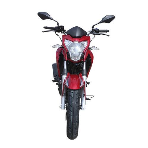 moto tuko tk cr-5 200cc año 2018 colores rojo/amarillo/blanc