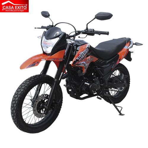 moto tuko tk z-220 220cc año 2018 colores tomate/rojo/negro