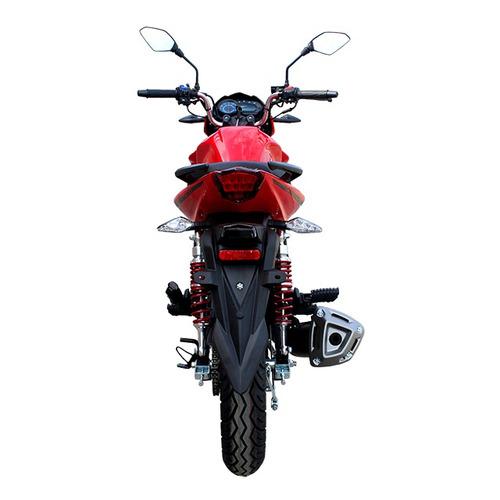 moto tuko tk150-cr1 150cc año 2018 color rojo/negro