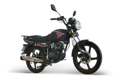 moto tundra atom negra motor 4 tiempos + matricula