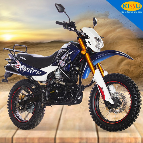 moto tundra raptor 250 cc cross/off road motor 4 tiempos