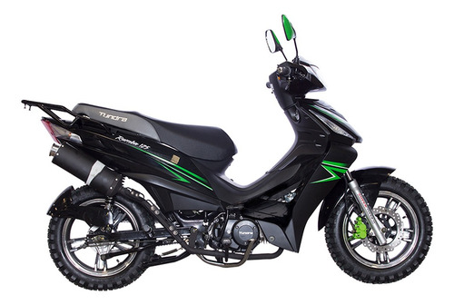 moto tundra rumba motor 4 tiempos 125 cc alarma garantia