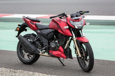 moto tv apache rtr 200cc año 2018