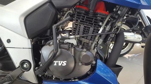 moto tvs 160 okm 12 cuotas s/interes c/tarjta  entrega hoy