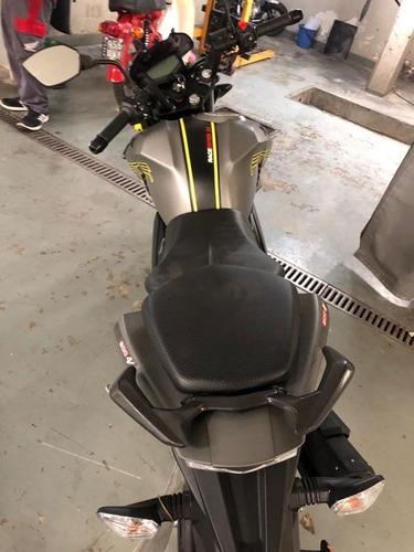 moto tvs 200 usada 2400 km nueva fcia c/tarj 12/18 2019