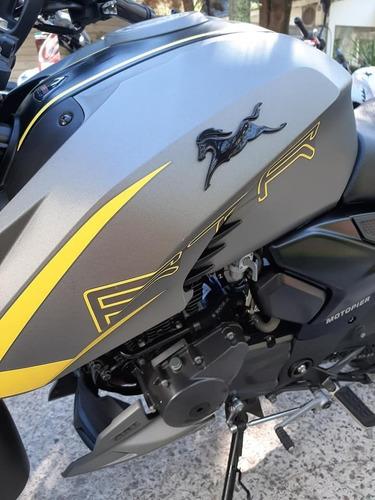 moto tvs 200 usada 2400 km nueva fcia c/tarj 12/18   mod