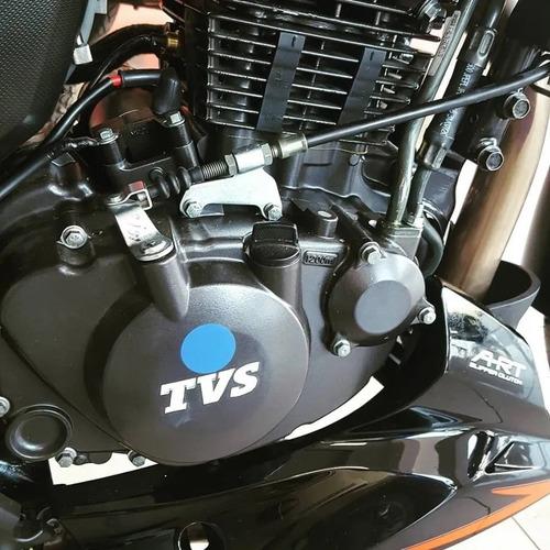 moto tvs rtr 200cc 0 km $ 60000 + cuotas 12/18 c/tarjeta