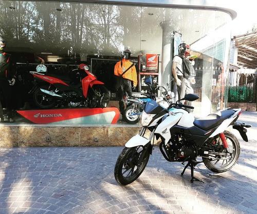 moto twister cb 125 f 0km fcia c/tarjeta 12/18 c/gtia honda
