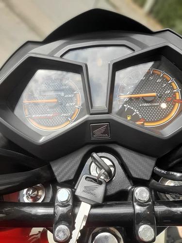 moto twister honda cb 125 f 0km fcia c/tarjeta 12/18 c/gtia