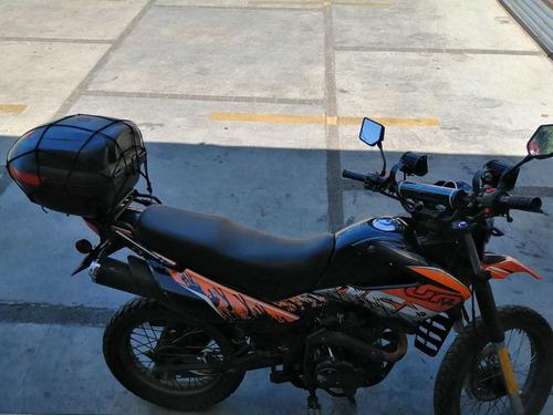 moto um dsrx 200cc, excelente estado