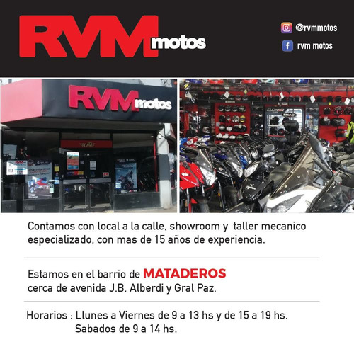 moto usada corven mirage 110 r2 full 1207 km impecable - rvm