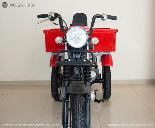 moto utilitario zanella tricargo 100 0km urquiza motos