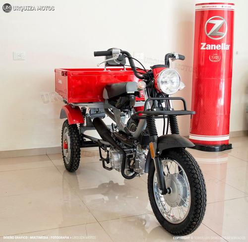 moto utilitario zanella tricargo 100 4t 0km urquiza motos
