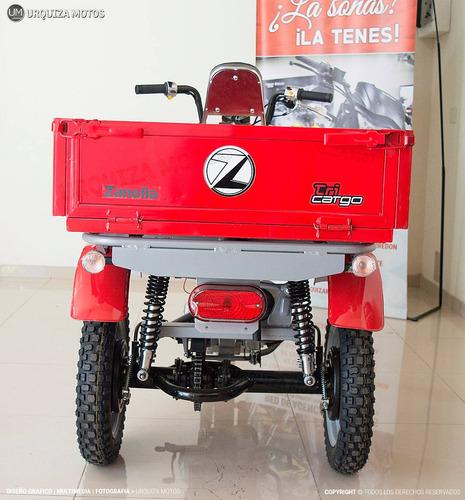 moto utilitario zanella tricargo 110 4t 0km urquiza motos