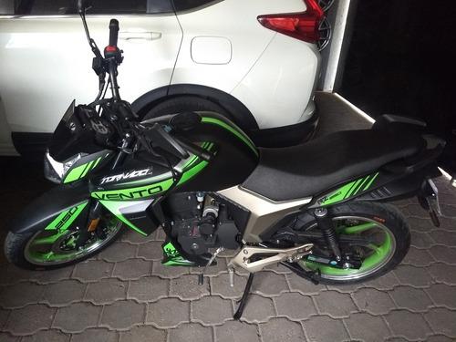 moto vento 250 cc tornado - seguro