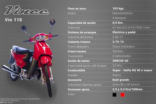 moto vince vin 110