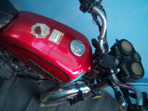 moto wanxin chopper 2009 rojo