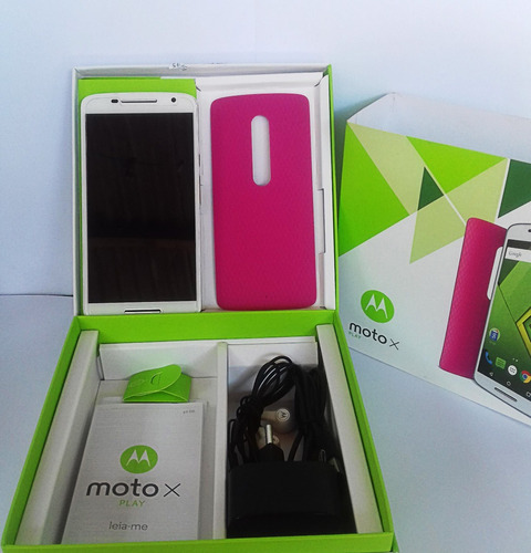 moto x play 4g dual branco 32gb