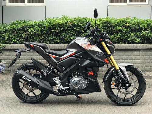 moto xfear 250cc imitación pulsar honda suzuki 6 marchas usb