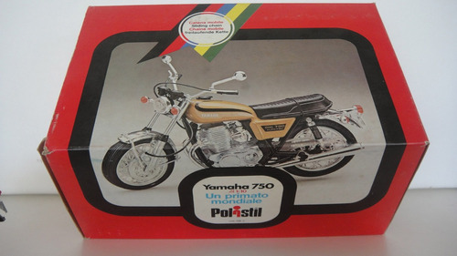 moto yamaha 750 escala 1/10