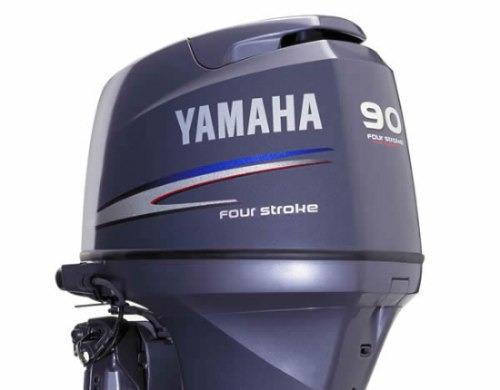 moto yamaha 90hp 4t
