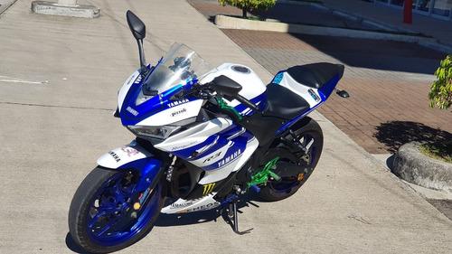 moto: yamaha. año: 2016 r3