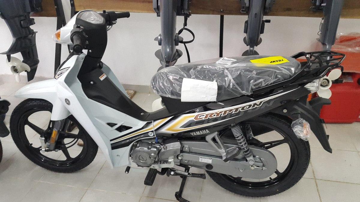 Moto Yamaha Crypton Precio