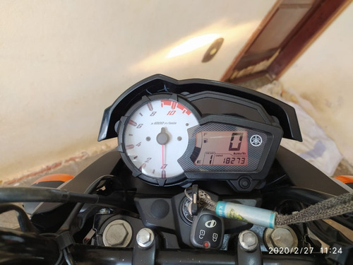 moto yamaha fazer ys 150 - flex