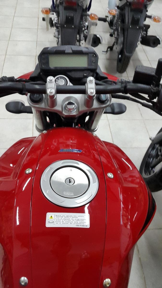 Moto Yamaha Fz Fi Ver Km Rojanegra D Nq Np Mla F on Motos Yamaha
