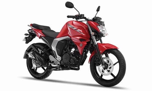 moto yamaha fzn150 fi 150cc año 2020 color rojo/ negro